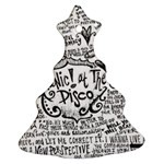 Panic! At The Disco Lyric Quotes Christmas Tree Ornament (2 Sides)
