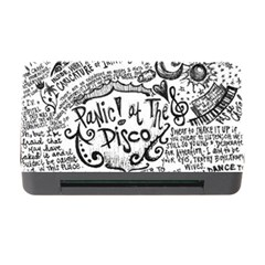 Panic! At The Disco Lyric Quotes Memory Card Reader With Cf by Onesevenart