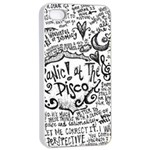 Panic! At The Disco Lyric Quotes Apple iPhone 4/4s Seamless Case (White)