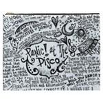 Panic! At The Disco Lyric Quotes Cosmetic Bag (XXXL)