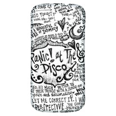 Panic! At The Disco Lyric Quotes Samsung Galaxy S3 S Iii Classic Hardshell Back Case by Onesevenart