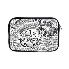 Panic! At The Disco Lyric Quotes Apple Ipad Mini Zipper Cases by Onesevenart