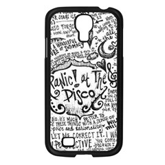 Panic! At The Disco Lyric Quotes Samsung Galaxy S4 I9500/ I9505 Case (black) by Onesevenart