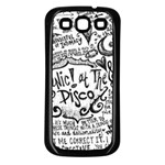 Panic! At The Disco Lyric Quotes Samsung Galaxy S3 Back Case (Black)
