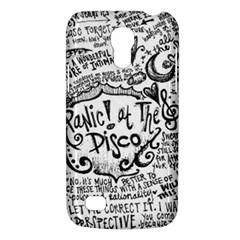 Panic! At The Disco Lyric Quotes Galaxy S4 Mini by Onesevenart