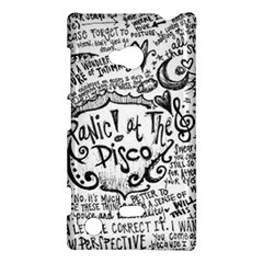 Panic! At The Disco Lyric Quotes Nokia Lumia 720 by Onesevenart