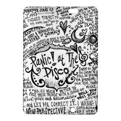 Panic! At The Disco Lyric Quotes Kindle Fire Hdx 8 9  Hardshell Case by Onesevenart