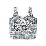 Panic! At The Disco Lyric Quotes Full Print Recycle Bags (S)