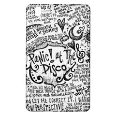Panic! At The Disco Lyric Quotes Samsung Galaxy Tab Pro 8 4 Hardshell Case by Onesevenart