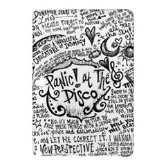 Panic! At The Disco Lyric Quotes Samsung Galaxy Tab Pro 12 2 Hardshell Case by Onesevenart