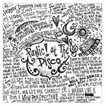 Panic! At The Disco Lyric Quotes Large Satin Scarf (Square)