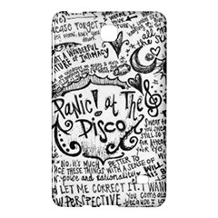 Panic! At The Disco Lyric Quotes Samsung Galaxy Tab 4 (7 ) Hardshell Case  by Onesevenart