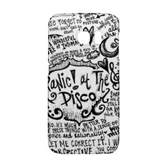 Panic! At The Disco Lyric Quotes Galaxy S6 Edge by Onesevenart