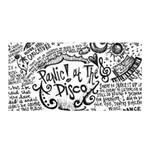 Panic! At The Disco Lyric Quotes Satin Wrap