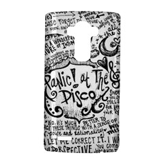 Panic! At The Disco Lyric Quotes Lg G4 Hardshell Case by Onesevenart