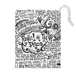 Panic! At The Disco Lyric Quotes Drawstring Pouches (Extra Large)