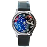 Panic! At The Disco Released Death Of A Bachelor Round Metal Watch