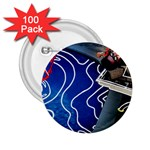 Panic! At The Disco Released Death Of A Bachelor 2.25  Buttons (100 pack)