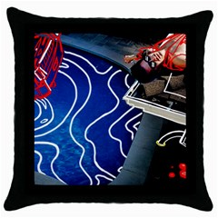Panic! At The Disco Released Death Of A Bachelor Throw Pillow Case (black) by Onesevenart