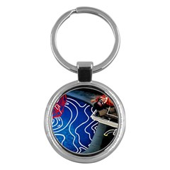 Panic! At The Disco Released Death Of A Bachelor Key Chains (round)  by Onesevenart