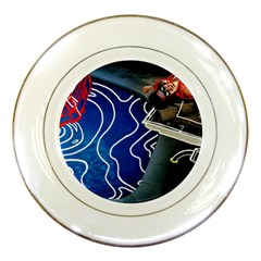 Panic! At The Disco Released Death Of A Bachelor Porcelain Plates by Onesevenart