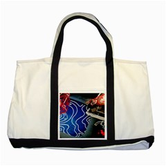 Panic! At The Disco Released Death Of A Bachelor Two Tone Tote Bag by Onesevenart