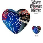 Panic! At The Disco Released Death Of A Bachelor Playing Cards 54 (Heart)