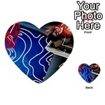 Panic! At The Disco Released Death Of A Bachelor Multi-purpose Cards (Heart)