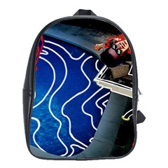 Panic! At The Disco Released Death Of A Bachelor School Bags(large)  by Onesevenart