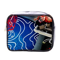 Panic! At The Disco Released Death Of A Bachelor Mini Toiletries Bags by Onesevenart