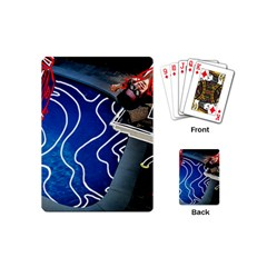 Panic! At The Disco Released Death Of A Bachelor Playing Cards (mini)  by Onesevenart