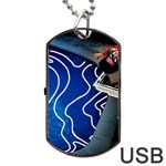 Panic! At The Disco Released Death Of A Bachelor Dog Tag USB Flash (Two Sides)