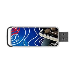 Panic! At The Disco Released Death Of A Bachelor Portable Usb Flash (one Side) by Onesevenart