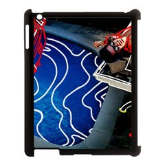 Panic! At The Disco Released Death Of A Bachelor Apple Ipad 3/4 Case (black) by Onesevenart