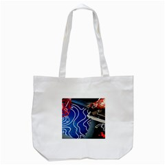 Panic! At The Disco Released Death Of A Bachelor Tote Bag (white) by Onesevenart