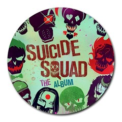 Panic! At The Disco Suicide Squad The Album Round Mousepads by Onesevenart
