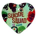Panic! At The Disco Suicide Squad The Album Ornament (Heart)