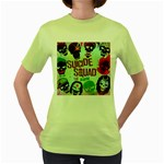 Panic! At The Disco Suicide Squad The Album Women s Green T-Shirt