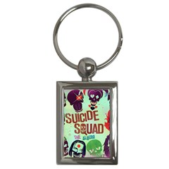 Panic! At The Disco Suicide Squad The Album Key Chains (rectangle)  by Onesevenart