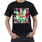 Panic! At The Disco Suicide Squad The Album Men s T-Shirt (Black) (Two Sided)
