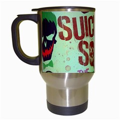 Panic! At The Disco Suicide Squad The Album Travel Mugs (white) by Onesevenart