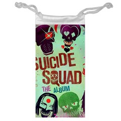 Panic! At The Disco Suicide Squad The Album Jewelry Bags by Onesevenart
