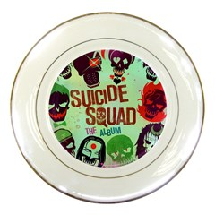 Panic! At The Disco Suicide Squad The Album Porcelain Plates by Onesevenart