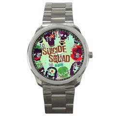 Panic! At The Disco Suicide Squad The Album Sport Metal Watch by Onesevenart