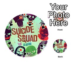 Panic! At The Disco Suicide Squad The Album Playing Cards 54 (round)  by Onesevenart