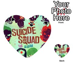Panic! At The Disco Suicide Squad The Album Playing Cards 54 (heart)  by Onesevenart