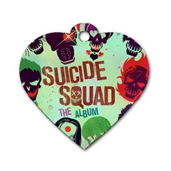 Panic! At The Disco Suicide Squad The Album Dog Tag Heart (one Side) by Onesevenart