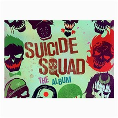 Panic! At The Disco Suicide Squad The Album Large Glasses Cloth (2 Side) by Onesevenart