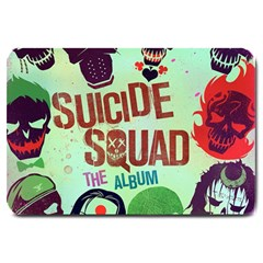 Panic! At The Disco Suicide Squad The Album Large Doormat  by Onesevenart