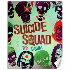 Panic! At The Disco Suicide Squad The Album Canvas 11  X 14   by Onesevenart